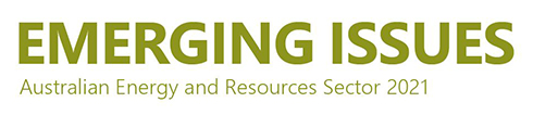 Emerging Issues for the energy and resources sector 2021