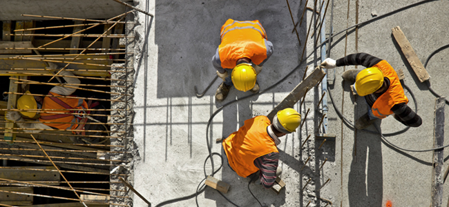 Construction workers - for events