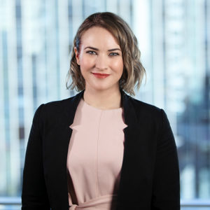 Halie Beaumont Senior Associate McCullough Robertson Lawyers