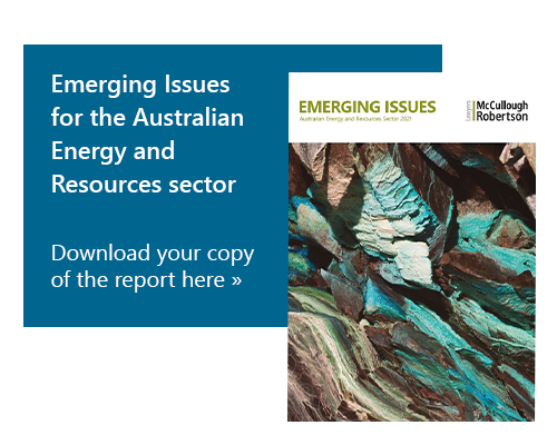 Download Emerging Issues for the Energy and Resources sectors
